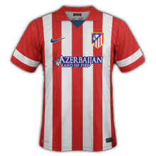 atletico madrid maillot domicile 2014
