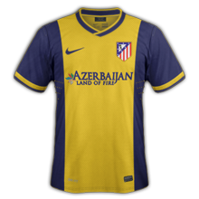 atletico madrid maillot exterieur 2014