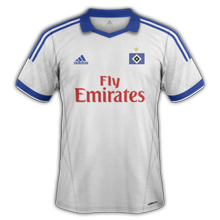 maillot home hambourg