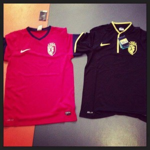 maillots lille LOSC 2014