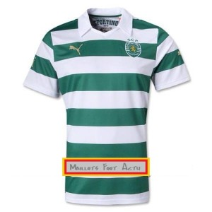 maillots sporting lisbonne 2014 puma
