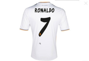 real madrid 2014 flocage ronaldo 7