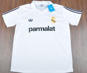 real madrid maillot rétro