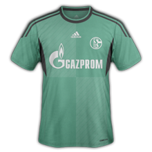 schalke maillot foot third 2014