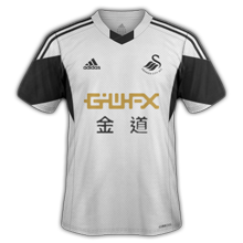 Maillot Home Swansea