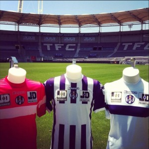 toulouse maillots foot 2014