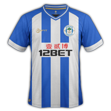wigan athletic maillot domicile 2014