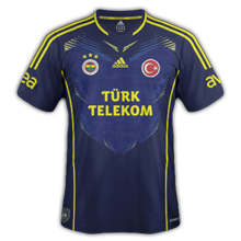 Maillots Third Fenerbahce