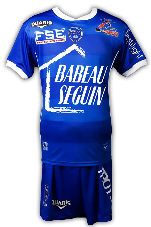 maillots estac troyes 2013 2014 maillots foot actu. Black Bedroom Furniture Sets. Home Design Ideas