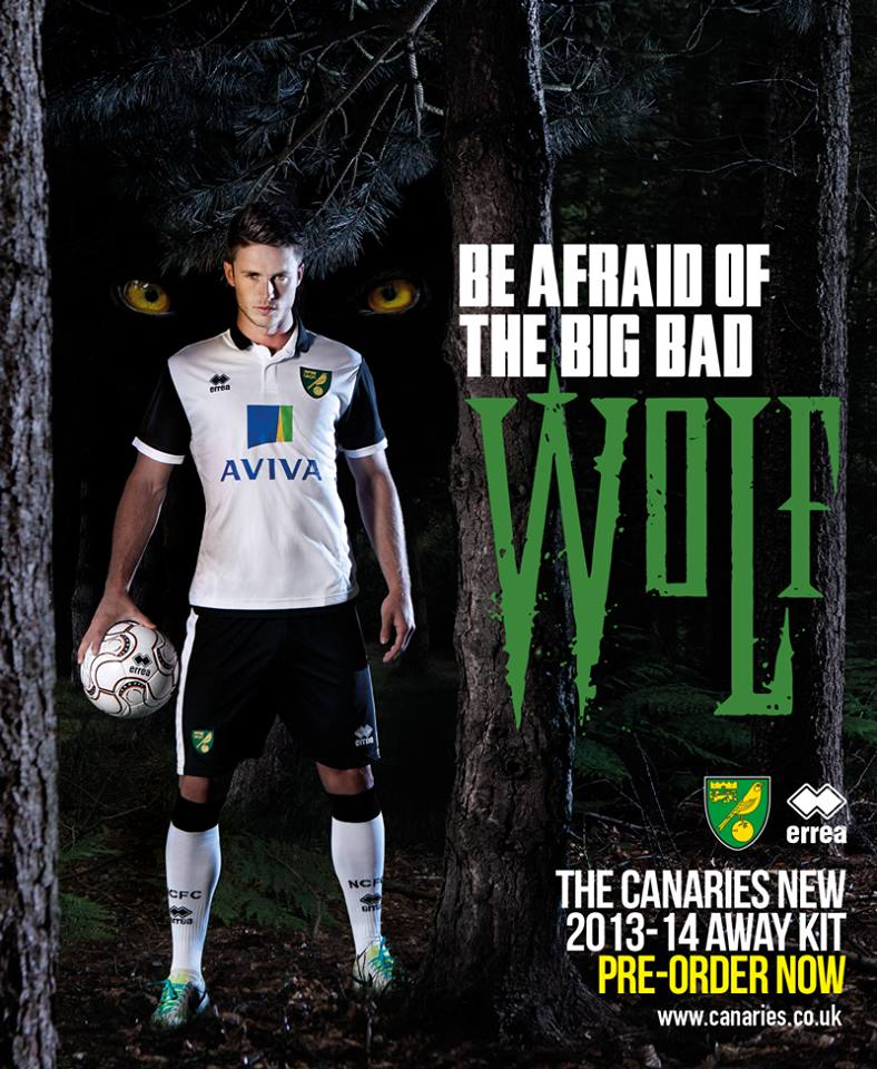 Maillot Away Norwich