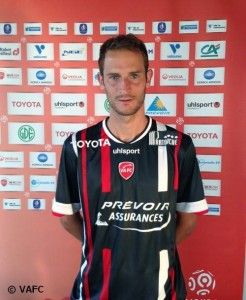 Maillot Away Valenciennes