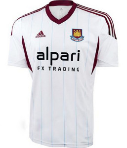 Maillot Away West Ham