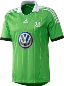 Maillot Away Wolfsburg