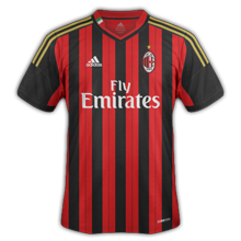 Maillot Home AC Milan