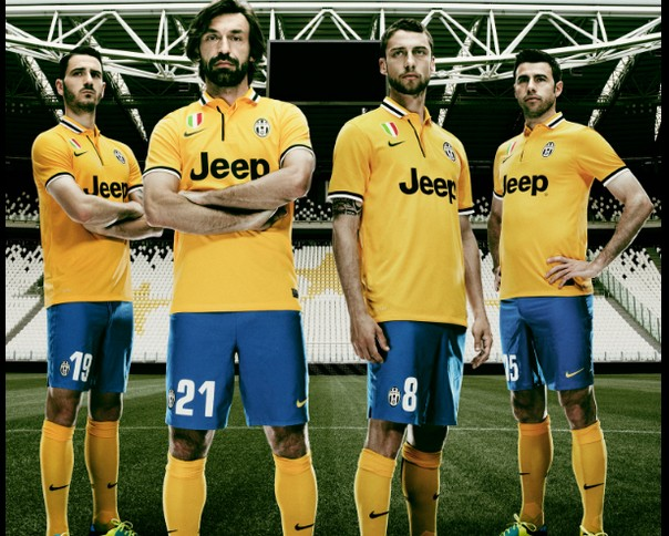 Maillots Away Juventus