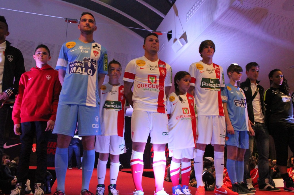 Maillots Brest