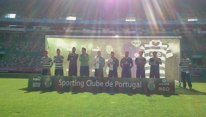 Maillots Sporting
