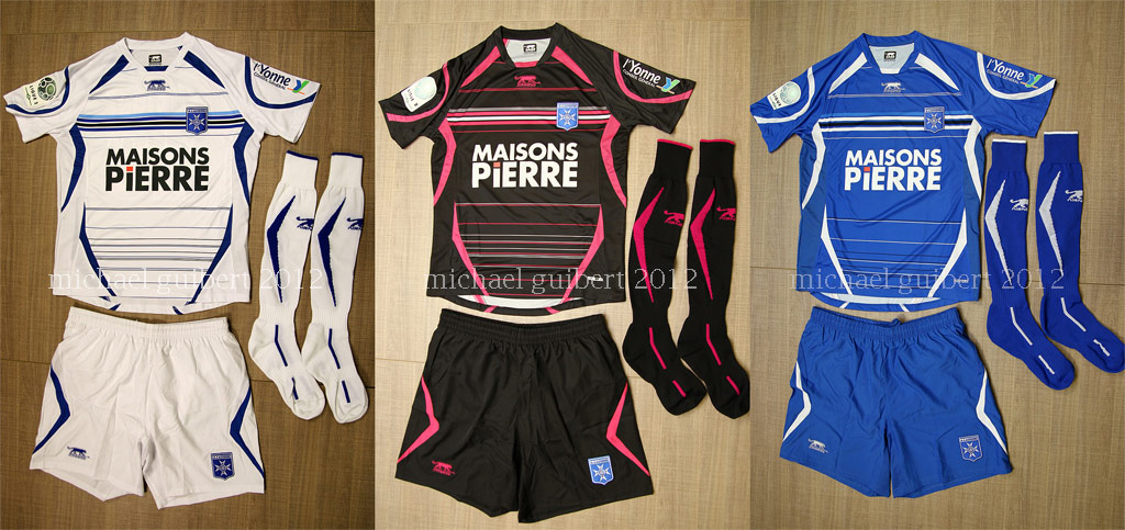Maillots Auxerre