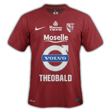 Maillot Home FC Metz