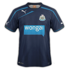 Maillot away newcastle