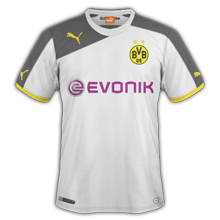 maillot de foot third Dortmund 2014 2015