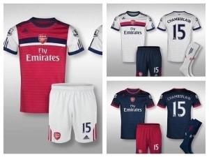 Maillots Probables Arsenal Adidas 2014