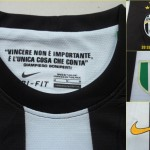 logo brode maillot foot