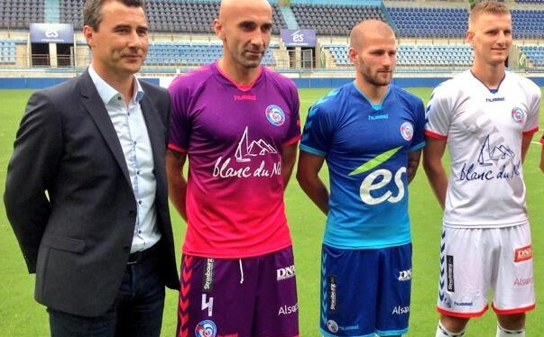 maillots strasbourg
