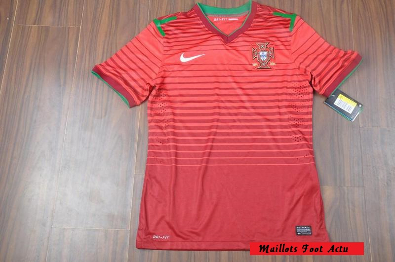 portugal 2014 maillot domicile football coupe du monde