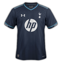 Tottenham 13 14 Third Kit