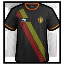 maillot extérieur Belgique 2014 coupe du monde