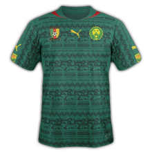 Cameroun 2014 maillot domicile CAN 2015