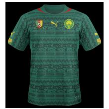 Cameroun 2014 maillot domicile coupe du monde