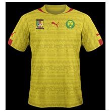 Cameroun 2014 maillot exterieur CAN 2015