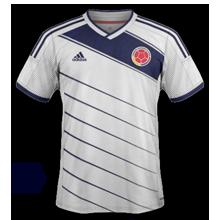 Colombie 2014 troisième maillot foot third coupe du monde 2014