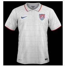 Etats-Unis 2014 maillot domicile coupe du monde 2014