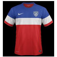 Etats-Unis 2014 maillot exterieur coupe du monde 2014