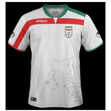 Iran maillot domicile coupe du monde 2014