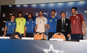 Italie 2014 maillots foot coupe du monde officiel
