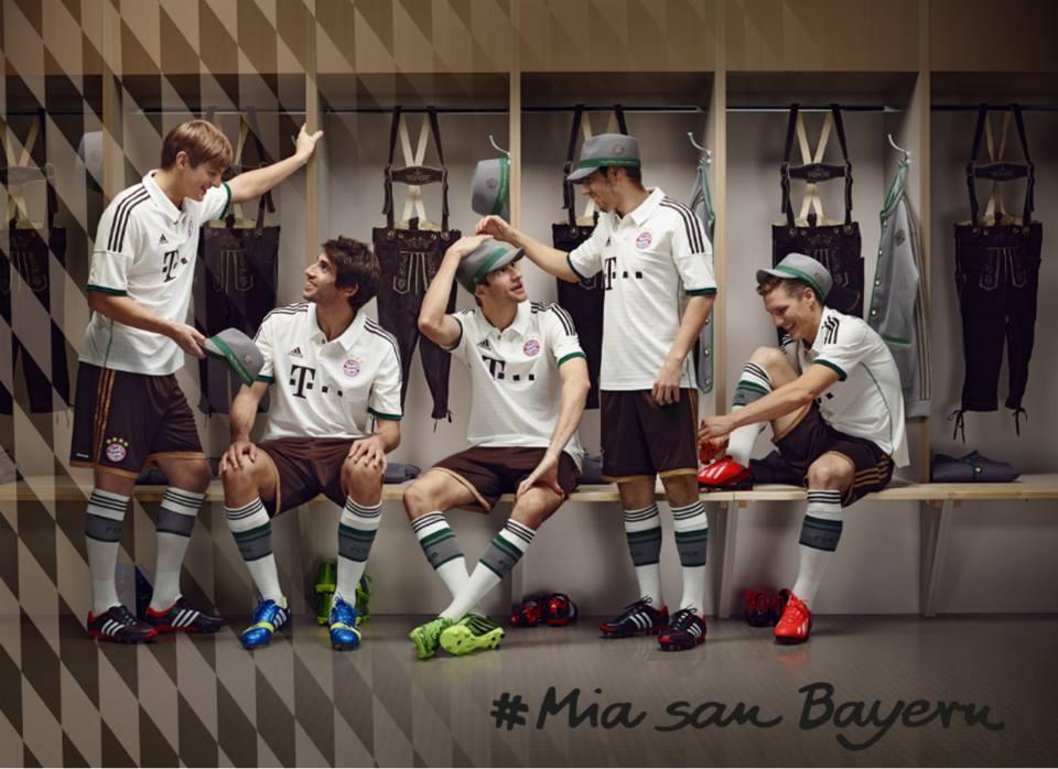 Maillot Away Bayern