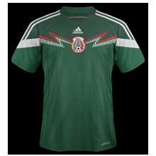 Mexique maillot domicile coupe du monde 2014