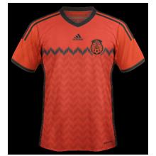 Mexique maillot exterieur coupe du monde 2014