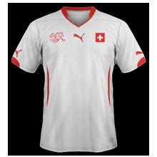 Suisse maillot exterieur coupe du monde 2014