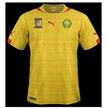 cameroun 2014 exterieur maillot coupe du monde