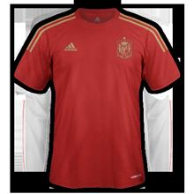 Espagne maillot domicile coupe du monde 2014
