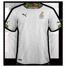 Ghana maillot foot domicile coupe du monde 2014