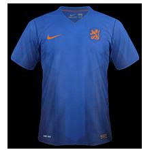 hollande exterieur maillot coupe du monde 2014
