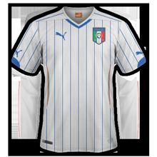 Italie 2014 maillot foot extérieur coupe du monde
