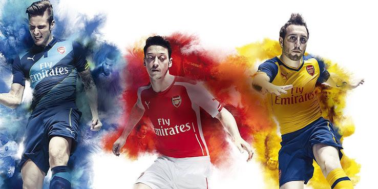 Arsenal-2015-les-nouveaux-maillots-de-football-2014-2015