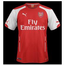 Arsenal maillot domicile 2015